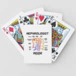 Nephrologist Inside (Kidney Nephron) Bicycle Playing Cards