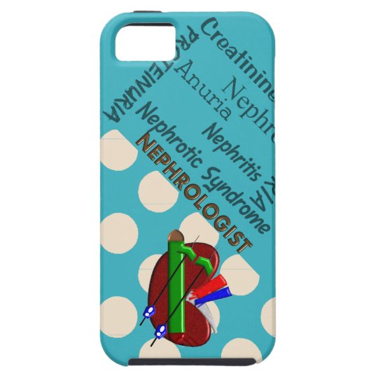 Nephrologist iPhone 5 Case Polka Dots