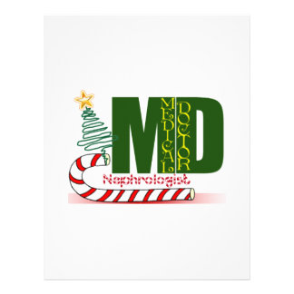 Nephrologist MERRY CHRISTMAS DOCTOR Letterhead