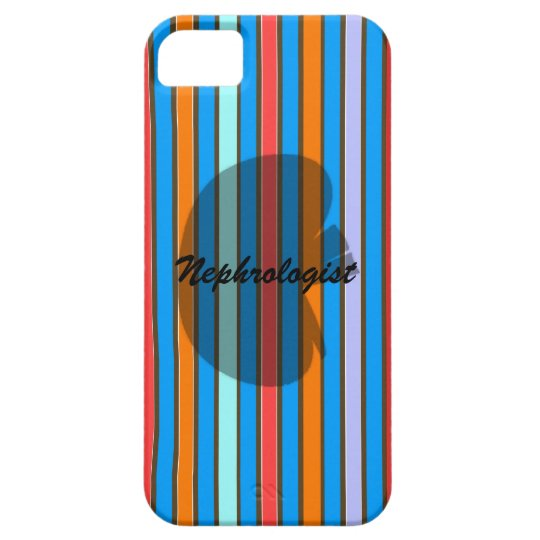 Nephrologist Striped iPhone 5 Case