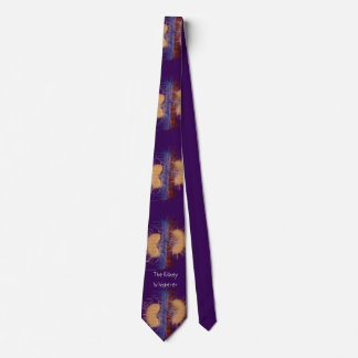 Nephrologist Tie Unique Artsy Kidney Purple