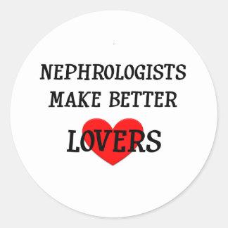 Nephrologists Make Better Lovers Classic Round Sticker