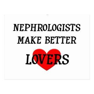 Nephrologists Make Better Lovers Postcard