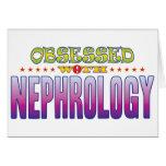 Nephrology 2 Obsessed Greeting Card