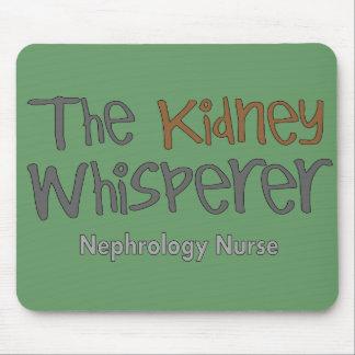 "Nephrology Nurse Gifts ""The Kidney Whisperer"" Mouse Pad"