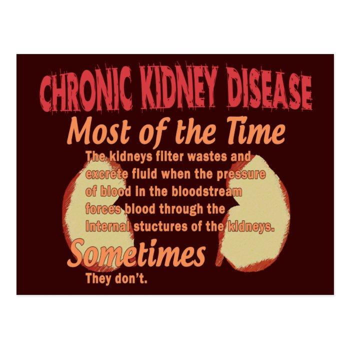Nephrology T-shirts & Gifts Postcard