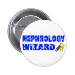 Nephrology Wizard Pin