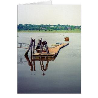 Neponset Dock Greeting Card