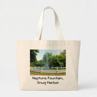 Neptuine Fountain totebag Canvas Bags