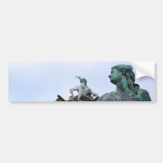 Neptunbrunnen - fuente de Neptuno - Berlín Pegatina De Parachoque