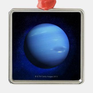 Neptune 3 metal ornament
