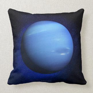 Neptune 3 throw pillow