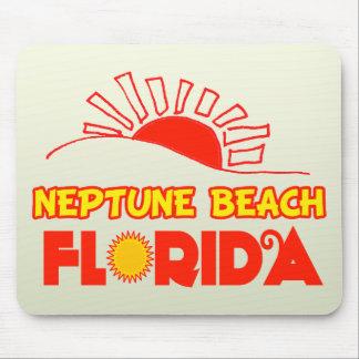 Neptune Beach, Florida Mouse Pads