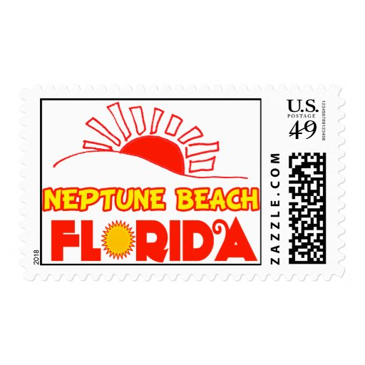 Neptune Beach, Florida Postage Stamp