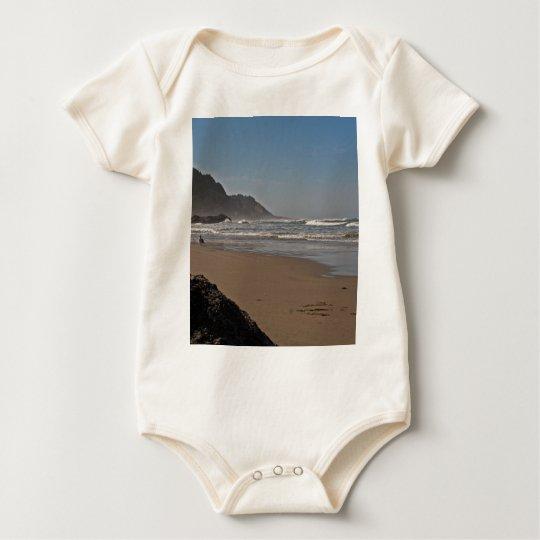 Neptune Beach Oregon Baby Bodysuit