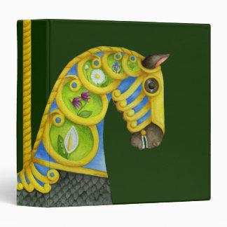 Neptune Carousel Horse Avery Binder