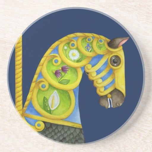 Neptune Carousel Horse Coaster
