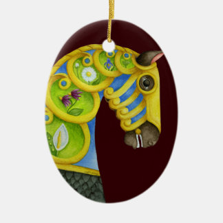 Neptune Carousel Horse Ornament