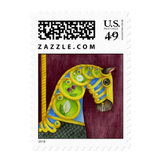 Neptune Carousel Horse Postage
