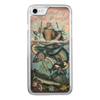 Neptune Carved iPhone 7 Case
