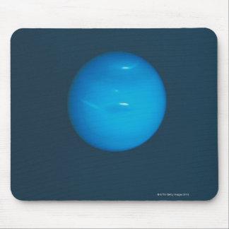 Neptune, dynamic blue-green atmosphere mousepad