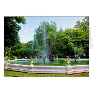 Neptune Fountain card