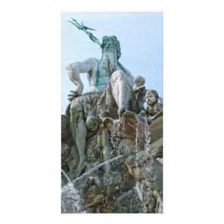 Neptune Fountain in Berlin Card