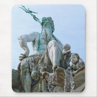 Neptune Fountain in Berlin Mouse Pad