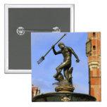 Neptune Fountain in Gdansk Pin