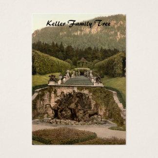 Neptune Fountain, Linderhof Castle, Germany Business Card