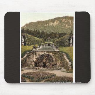 Neptune Fountain, Linderhof Castle, Upper Bavaria, Mouse Pad