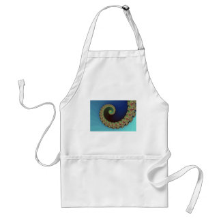 Neptune - Fractal Art Adult Apron