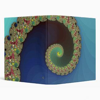 Neptune - Fractal Art Binder
