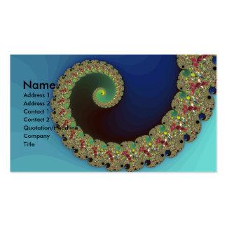 Neptune - Fractal Art Business Card