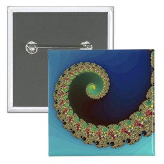 Neptune - Fractal Art Button