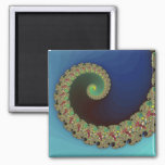 Neptune - Fractal Art Magnet