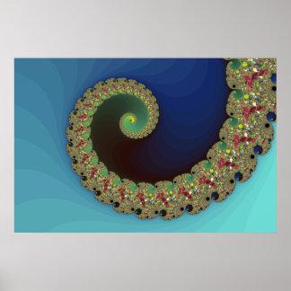 Neptune - Fractal Art Print