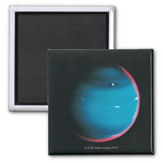 Neptune from Voyager 2 2 Inch Square Magnet