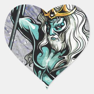 Neptune Heart Sticker