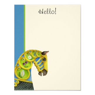 Neptune Hello! Flat Note Cards