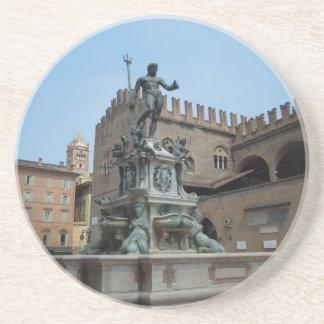 Neptune in Bologna Drink Coaster