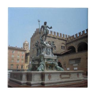 Neptune in Bologna Tile