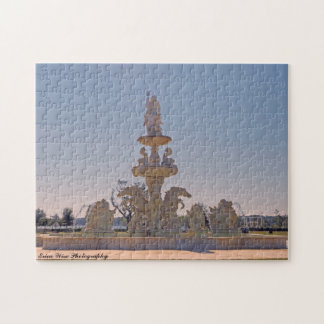 Neptune, King of the Fountain Jigsaw Puzzle