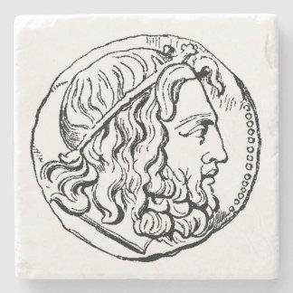 Neptune marble stone coaster