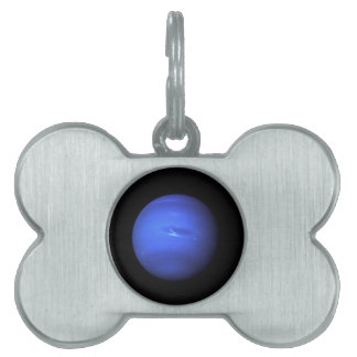 Neptune NASA Planet Pet Name Tag