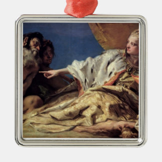 Neptune offering gifts to Venice (ceiling fresco) Christmas Ornament