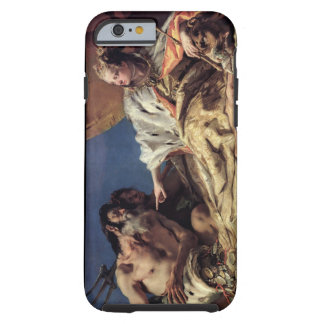 Neptune offering gifts to Venice (ceiling fresco) Tough iPhone 6 Case