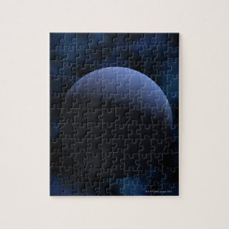 Neptune planet jigsaw puzzle