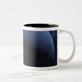 Neptune planet Two-Tone coffee mug