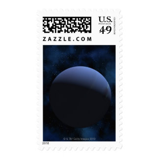 Neptune planet stamp